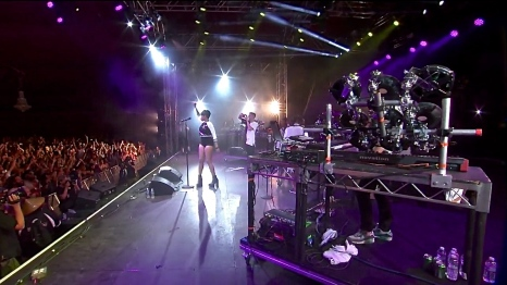 Gorgon City | Coachella | 4/10/15 | iPhone5 Screen Shot of Weekend 1 Live Stream Un-Leashed by T-Mobile