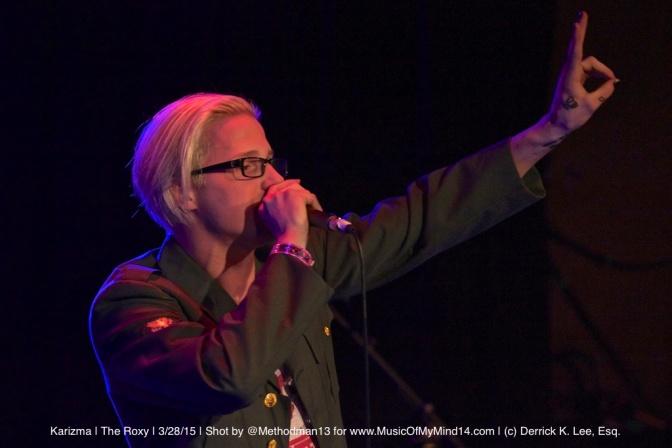 Photos & Video: Karizma | The Roxy | 3/28/15
