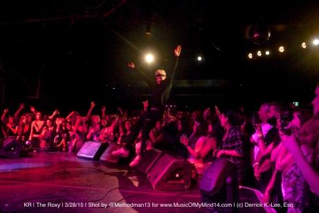 KR   The Roxy   3/28/15