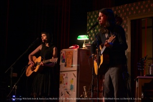 Seth Avett + Jessica Lea Mayfield | Wilshire Ebell Theatre | 3/31/15