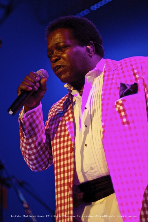 Lee Fields | Mack Sennett Studios | 4/2/15
