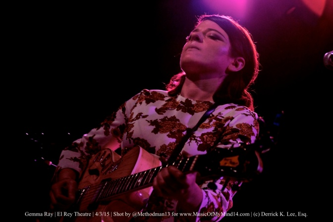 Photos+Videos: Gemma Ray | El Rey Theatre | 4/3/15