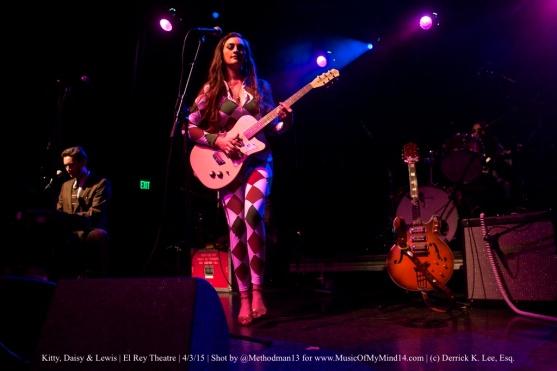 Kitty, Daisy & Lewis   El Rey Theatre   4/3/15