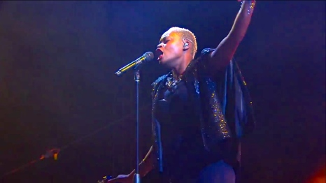 Fitz & The Tantrums | Coachella |4/12/15 | iPhone5 Screen Shot of Weekend 1 Live Stream Un-Leashed by T-Mobile
