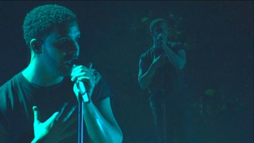 Drake | Coachella |4/12/15 | iPhone5 Screen Shot of Weekend 1 Live Stream Un-Leashed by T-Mobile