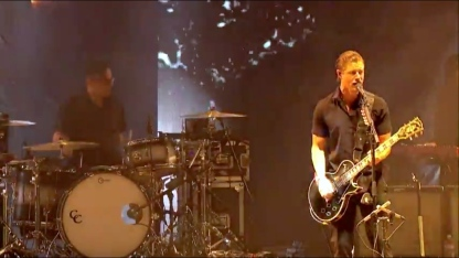 Interpol | Coachella |4/10/15 | iPhone5 Screen Shot of Weekend 1 Live Stream Un-Leashed by T-Mobile
