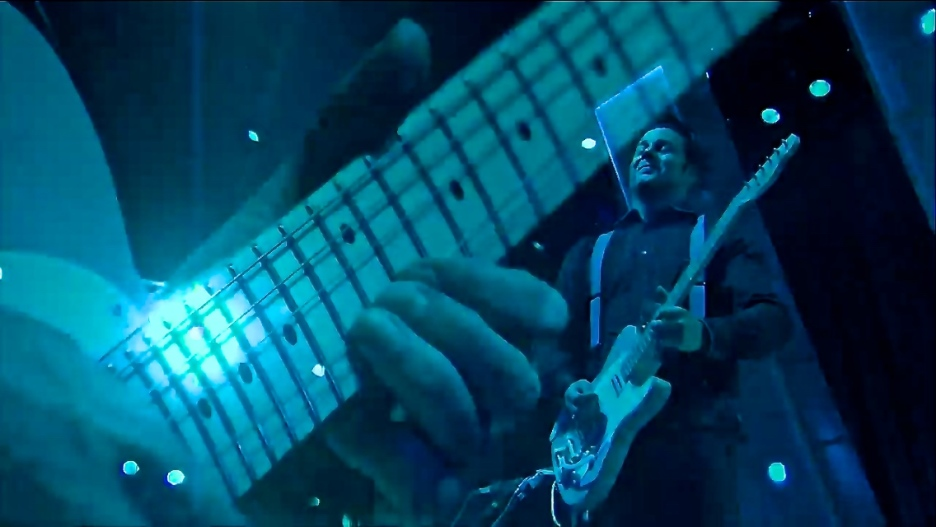 Jack White   Coachella   4/11/15   iPhone5 Screen Shot of Weekend 1 Live Stream Un-Leashed by T-Mobile