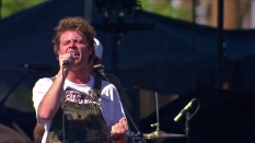 Mac DeMarco | Coachella | 4/12/15 | iPhone5 Screen Shot of Weekend 1 Live Stream Un-Leashed by T-Mobile