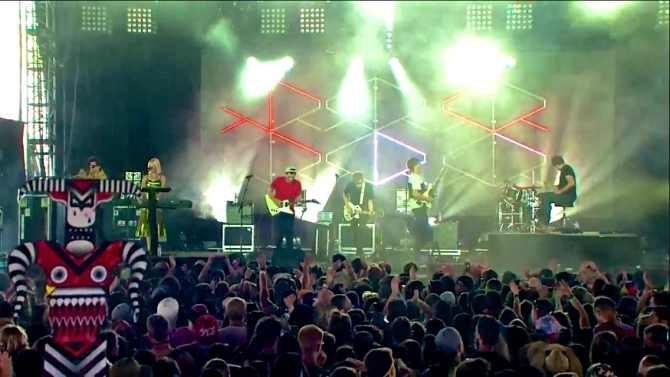 RAC   Coachella   4/12/15   iPhone5 Screen Shot of Weekend 1 Live Stream Un-Leashed by T-Mobile