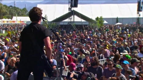 Royal Blood | Coachella | 4/11/15 | iPhone5 Screen Shot of Weekend 1 Live Stream Un-Leashed by T-Mobile