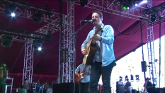 Sturgill Simpson | Coachella | 4/12/15 | iPhone5 Screen Shot of Weekend 1 Live Stream Un-Leashed by T-Mobile