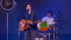 Vance Joy | Coachella |4/12/15 | iPhone5 Screen Shot of Weekend 1 Live Stream Un-Leashed by T-Mobile