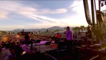 The War On Drugs | Coachella | 4/10/15 | iPhone5 Screen Shot of Weekend 1 Live Stream Un-Leashed by T-Mobile
