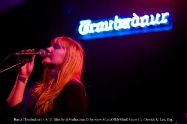 Banta | Troubadour | 4/8/15