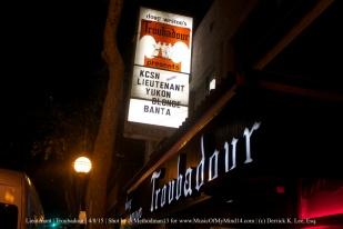 Lieutenant | Troubadour | 4/8/15