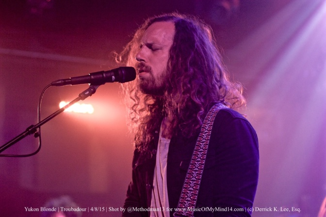 PHOTOS+VIDEO: Yukon Blonde | Troubadour | 4/8/15