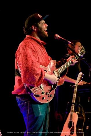 Daniel And The Lion   Troubadour   4/15/15